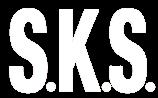 SKS logo white